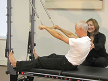 Private class Pilates
